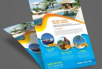 Travel Tour Flyer Template  Graphic Design with regard to Travel And Tourism Brochure Templates Free