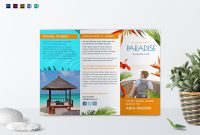 Travel Tri Fold Brochure Design Template In Psd Word Publisher regarding Word Travel Brochure Template