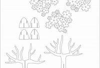 Tree D Pop Up Card Kirigami Pattern   Kirigami Art  Pop Up Card within Pop Out Heart Card Template