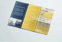 Tri Fold Brochure  Free Indesign Template pertaining to Adobe Indesign Tri Fold Brochure Template
