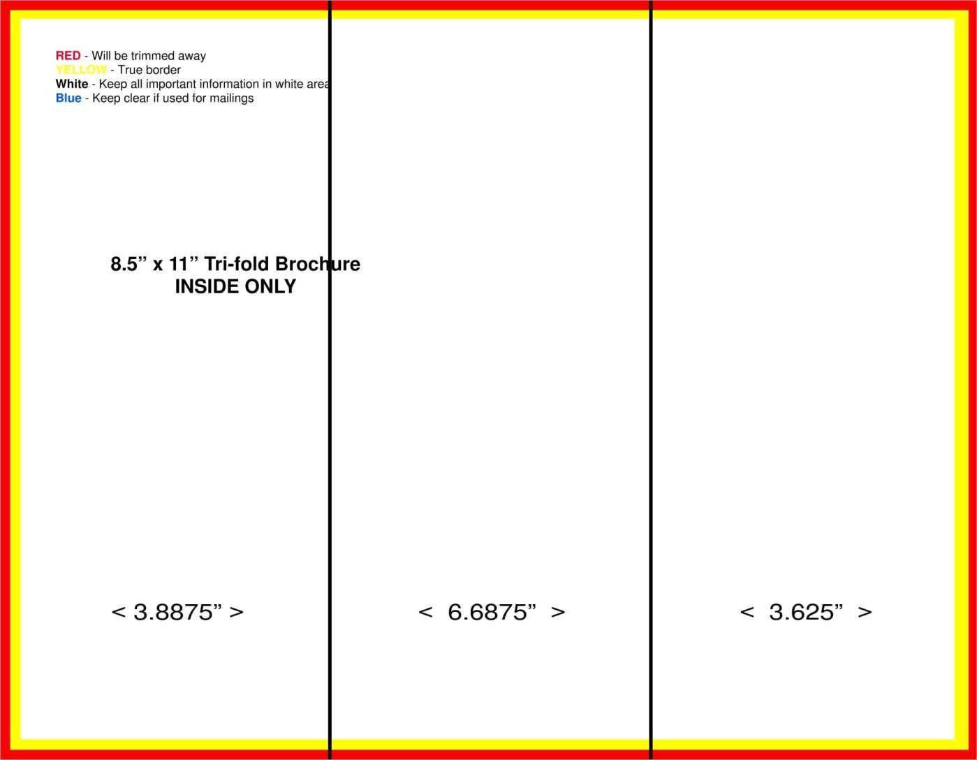 Tri Fold Flyer Template – Moroccanoilshampooxyz Throughout Brochure Folding Templates