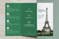 Trifold Brochure Examples To Inspire Your Design  Venngage Gallery in Three Panel Brochure Template