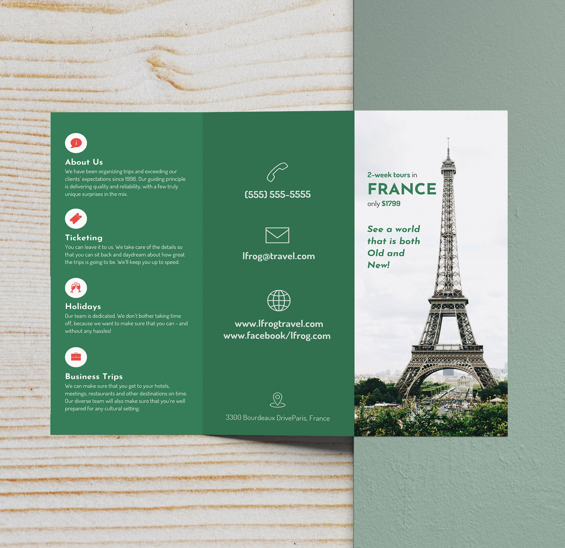 Trifold Brochure Examples To Inspire Your Design  Venngage Gallery Within Pop Up Brochure Template