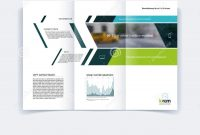 Trifold Brochure Template Layout Cover Design Flyer In A Wit pertaining to Engineering Brochure Templates Free Download