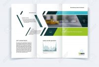 Trifold Brochure Template Layout Cover Design Flyer In A within Engineering Brochure Templates