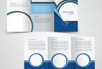 Trifold Business Brochure Template Twosided Template Design throughout Double Sided Tri Fold Brochure Template