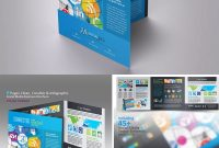 Trifold Social Media Brochure Template Indesign Indd  Brochure for Social Media Brochure Template