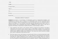 Truck Driver Contract Agreement Template Inspirational Rental Owner within Owner Operator Lease Agreement Template