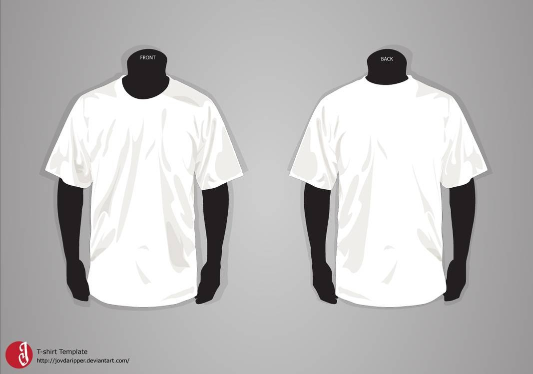Tshirt Template Updatejovdaripper On Deviantart With Blank Tshirt Template Pdf