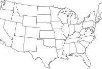 United State Map Template Image Free Library Of States Outline intended for United States Map Template Blank