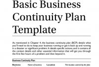 Unusual Business Continuity Planning Template Plan Australia Example intended for Business Continuity Plan Template Australia