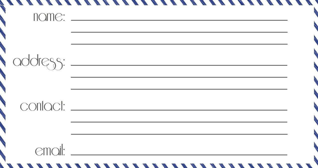 Useful Luggage Tag Templates For You  Kittybabylove In Blank Luggage Tag Template