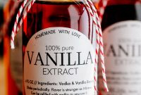 Vanilla Extract Recipe  How To Make Vanilla Extract  Natashaskitchen intended for Homemade Vanilla Extract Label Template