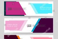 Vector Abstract Design Web Banner Template Stock Vector Royalty for Event Banner Template