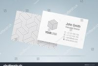 Vector Business Card Template Elegant Business Stock Vector Royalty regarding Generic Business Card Template