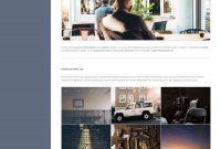 Volton Mobile Website Template Vertical Menu Design At The Left within Free Website Menu Design Templates