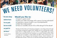Volunteer Recruitment Template Free Volunteer Recruitment Flyer pertaining to Volunteer Brochure Template
