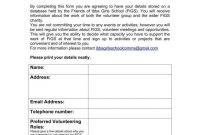 Volunteer Signup Sheet Templates  Pdf  Free  Premium Templates in Volunteering Form Disclaimer Templates
