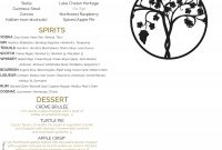 Wapato Point Cellars  Bar And Tasting Room Menu intended for Wine Tasting Menu Template