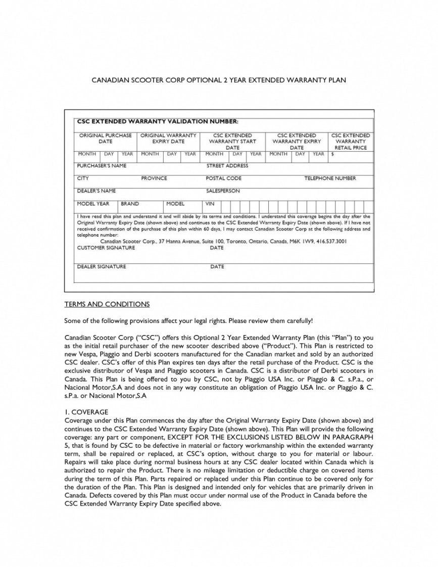 Warranty Agreement Template  Lobo Black With Regard To Extended Warranty Agreement Template