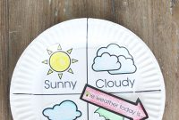 Weather Chart Kid Craft  The Crafting Chicks for Kids Weather Report Template