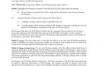 Web Development Contractfathatdesign  Web Developer Contract with regard to Website Development Agreement Template