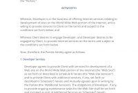 Web Site Development Agreement Uk   Easy Steps with regard to Website Development Agreement Template