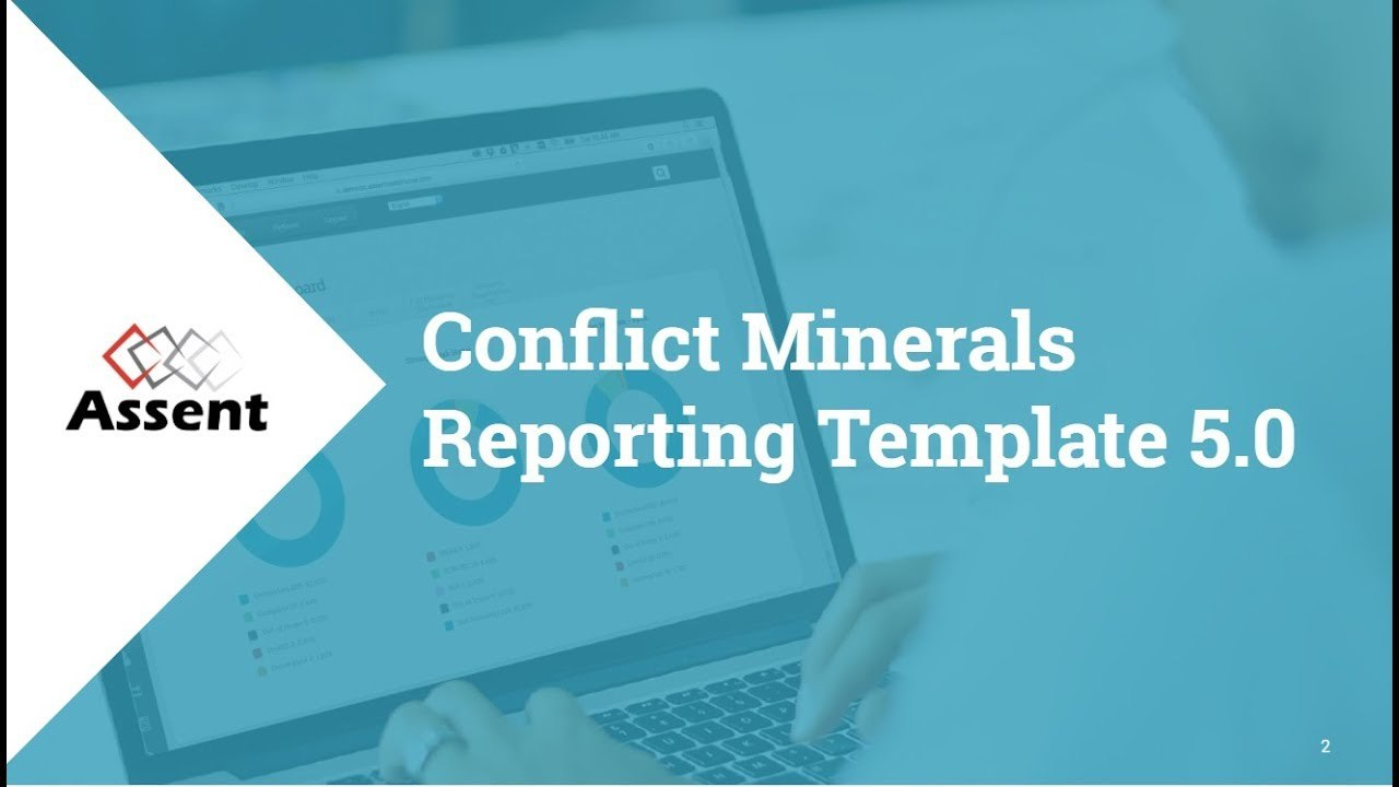 Webinar Conflict Minerals Reporting Template Regarding Conflict Minerals Reporting Template