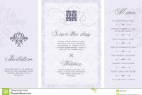 Wedding Invitation Stock Vector Illustration Of Card intended for Free E Wedding Invitation Card Templates