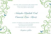 Wedding Invitation Templates Images  Free Wedding Invitation with regard to Free E Wedding Invitation Card Templates