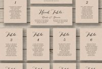 Wedding Seating Chart Template Printablehopestreetprintables within Wedding Seating Chart Template Word