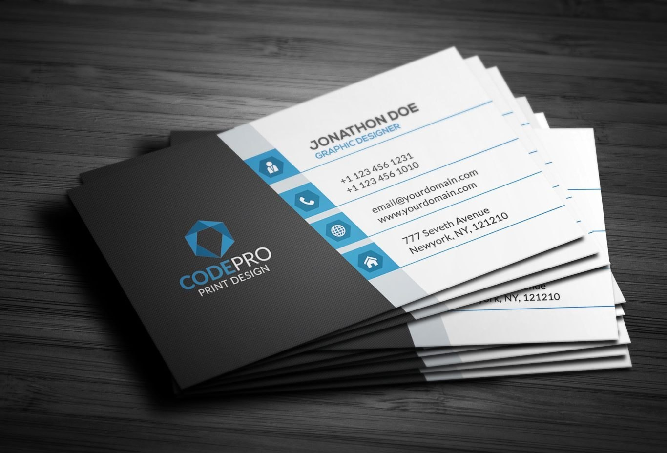 What Information To Put On A Business Card  Selfgrasp In Generic Business Card Template