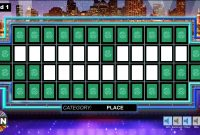Wheel Of Fortune Powerpoint Game  Youth Downloadsyouth Downloads inside Wheel Of Fortune Powerpoint Game Show Templates