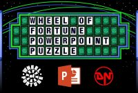 Wheel Of Fortune  Powerpoint Puzzle regarding Wheel Of Fortune Powerpoint Template