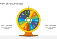 Wheel Of Fortune Powerpoint Template  Slidemodel with regard to Wheel Of Fortune Powerpoint Game Show Templates