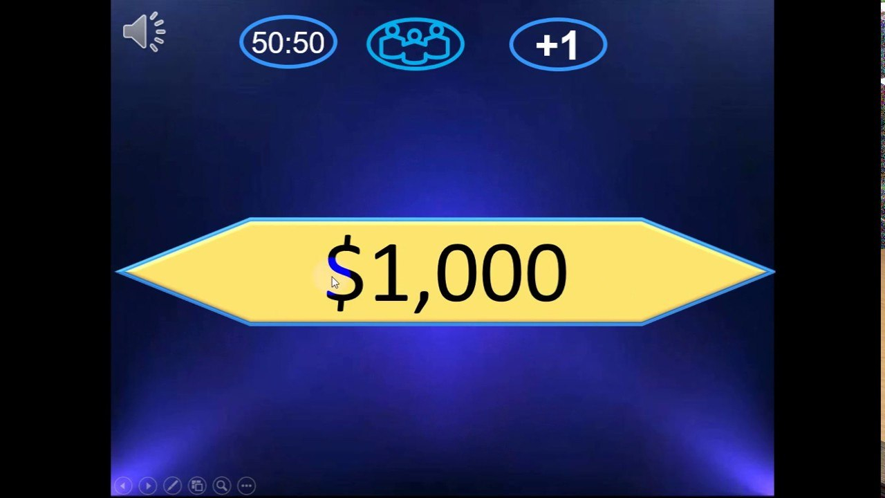 Who Want To Be A Millionaire Powerpoint Version  New Gerund With Regard To Who Wants To Be A Millionaire Powerpoint Template