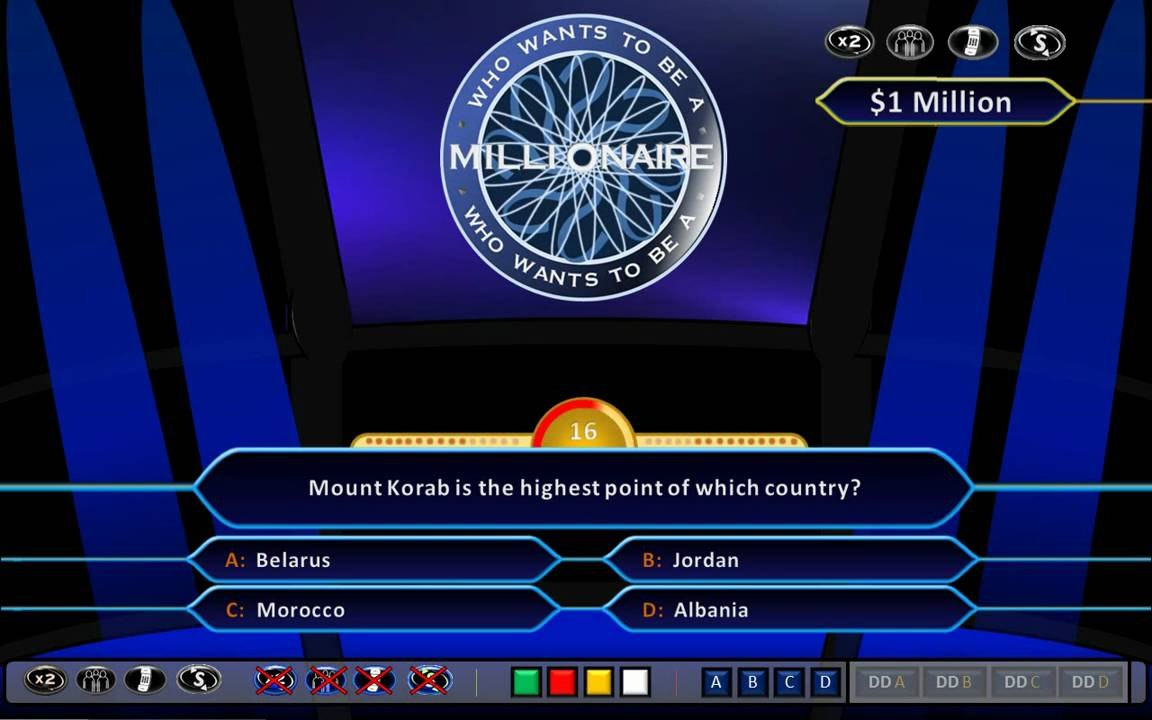 Who Wants To Be A Millionaire Demonstration Hd Ppt  Us Clock With Who Wants To Be A Millionaire Powerpoint Template