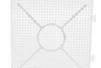 Wholesale Perler Beads Roundsquarehexagon Shape Beads Template regarding Blank Perler Bead Template
