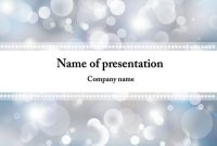 Winter Snowflakes Powerpoint Template  Powerpoint Templates within Snow Powerpoint Template