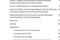Wonderful Agriculture Business Plan Template Free Templates ~ Fanmailus intended for Agriculture Business Plan Template Free