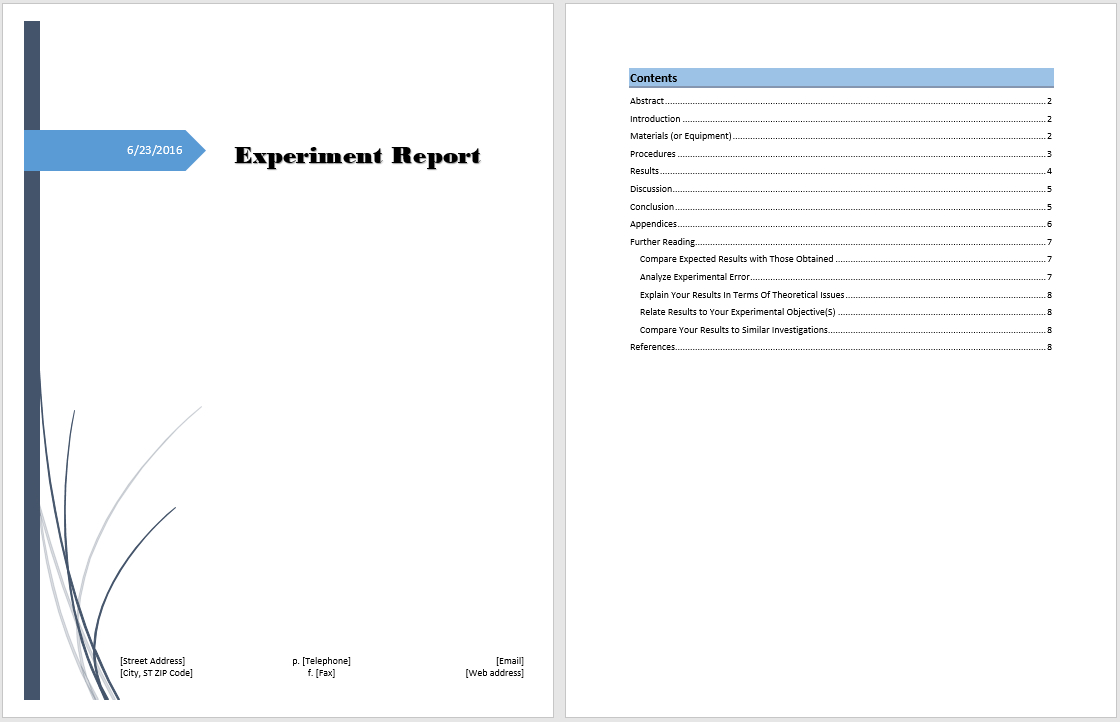Word Reports Emplates Gese Ciceros Co Business Report Emplate Format Within Word Annual Report Template