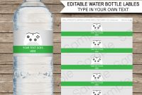 Xbox Party Water Bottle Labels  Video Game Theme Party regarding Template For Bottle Labels