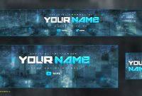 Youtube Banner Template Photoshop Cs Awesome Lovely Youtube Banner inside Banner Template For Photoshop