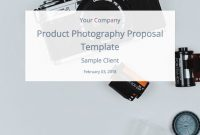 A Product Photography Proposal And Template To Win Clients  Bidsketch for Photography Proposal Template