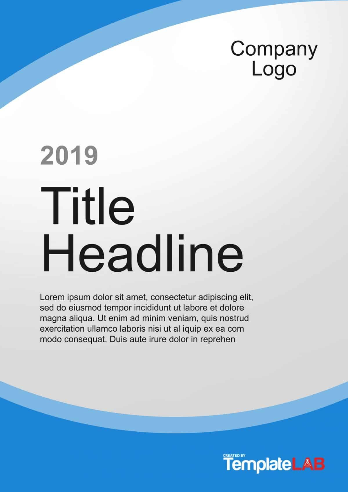 Amazing Cover Page Templates Word  Psd ᐅ Template Lab With Proposal Cover Page Template