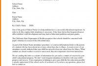Behavior Letter To Parents From Teacher Template Inspiration inside Letters To Parents From Teachers Templates