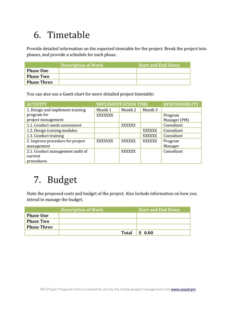 Best Consulting Proposal Templates Free ᐅ Template Lab Within Training Proposal Template
