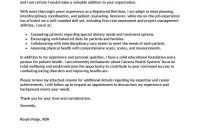 Best Wellness Cover Letter Examples  Livecareer with Client Care Letter Template