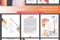Boho Babe Indesign Ebook Templatecoral Antler Creative On within Indesign Presentation Templates
