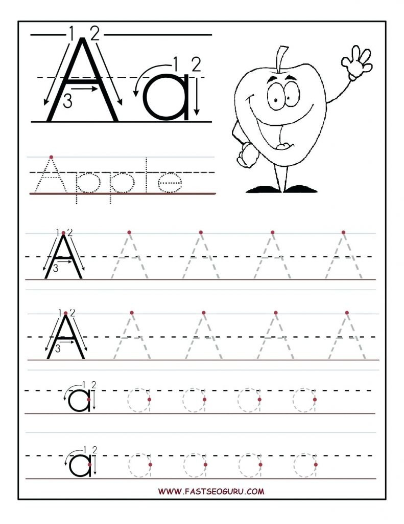 Bubble Alphabet Letters To Trace Letter A Traceable Printable With Regard To Tracing Letters Template